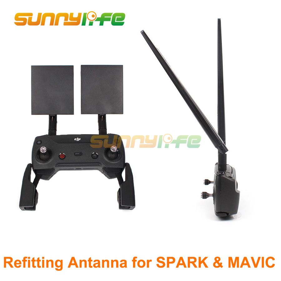 Refitting Antenna 2.4G 7dbi 8dbi Signal Booster for DJI SPARK & MAVIC 2 PRO & MAVIC AIR Range Extender