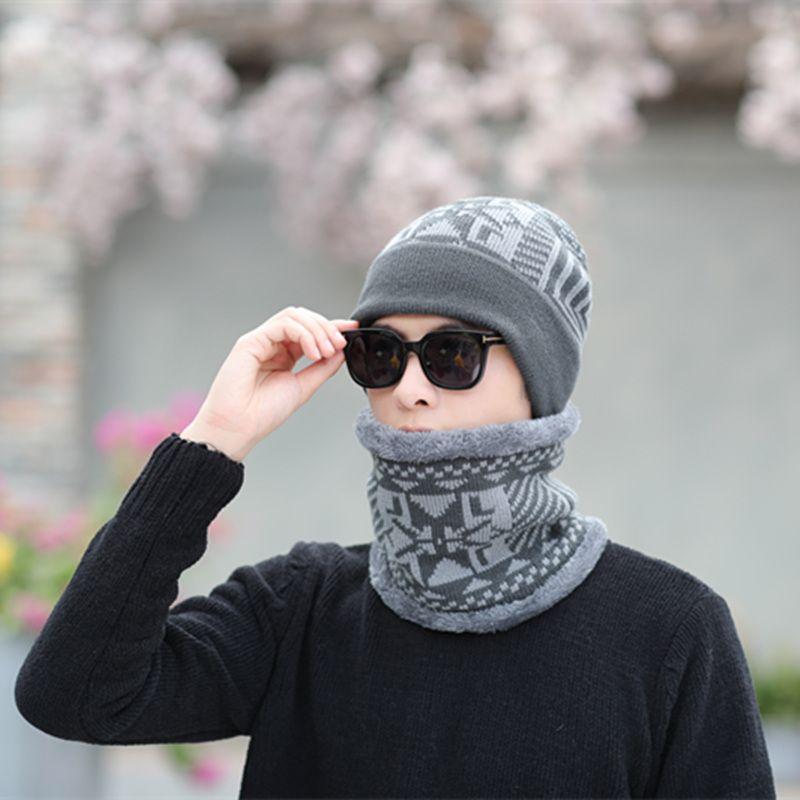 Sterbakov 2018 Winter skullies Beanie Hut Schal Weiche Schädel Warme Mütze Baggy Cap Beanie Hüte Winter Hüte Für Männer frauen Strickmütze