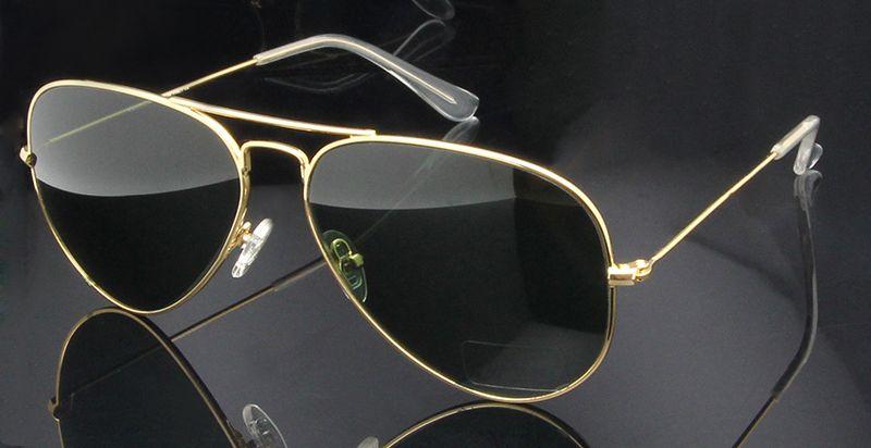 Высокое качество Стекло Солнцезащитные очки для женщин объектив Винтаж Солнцезащитные очки для женщин Для мужчин Для женщин золото Светоо...