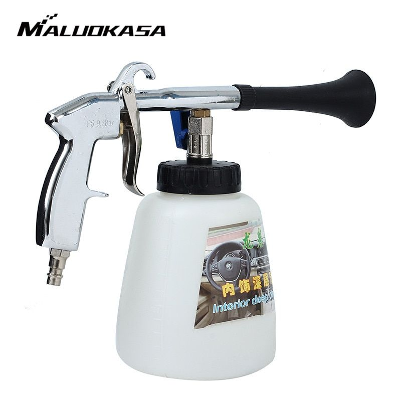 MALUOKASA Tornado Car Cleaning Gun Auto Interior Dry Deep Clean Washing Gun For Cockpit Care Cars Air Operated Wash Equipment