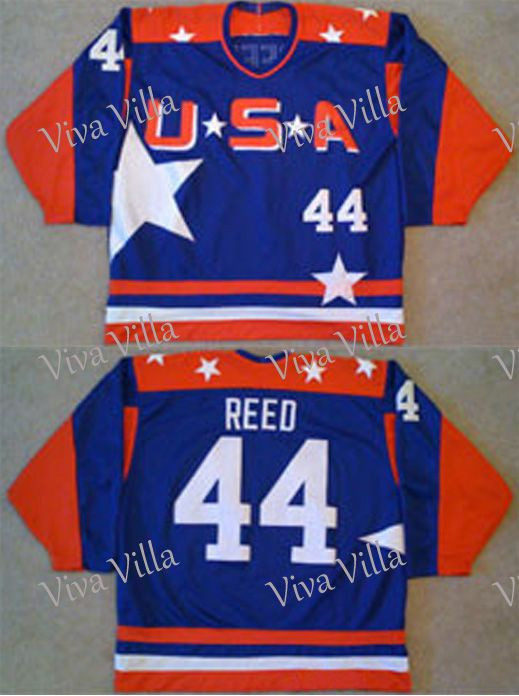 44 Fulton Reed Jersey Mighty Ducks Jersey 21 Dean Portman Stitched Men's Movie Hockey Jerseys S-3XL Free Shipping