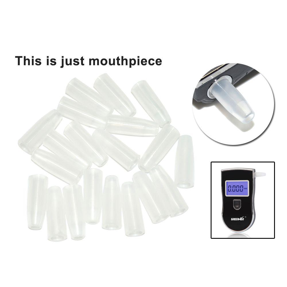 Digital Breath Alcohol Tester Breathalyzer mouthpiece 50pcs wholesale Freeshipping Dropshipping