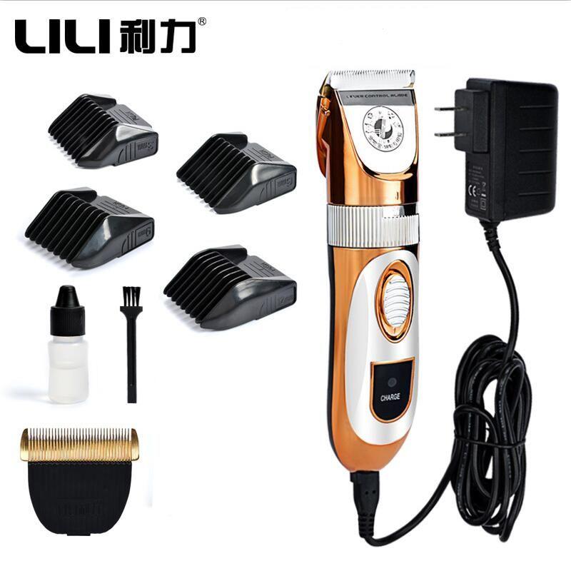 Professionnel haute puissance 60W électrique tondeuse à cheveux pour animaux de compagnie chat chien lapin tondeuse à cheveux toilettage Machine avec tête de rechange 110-240VAC