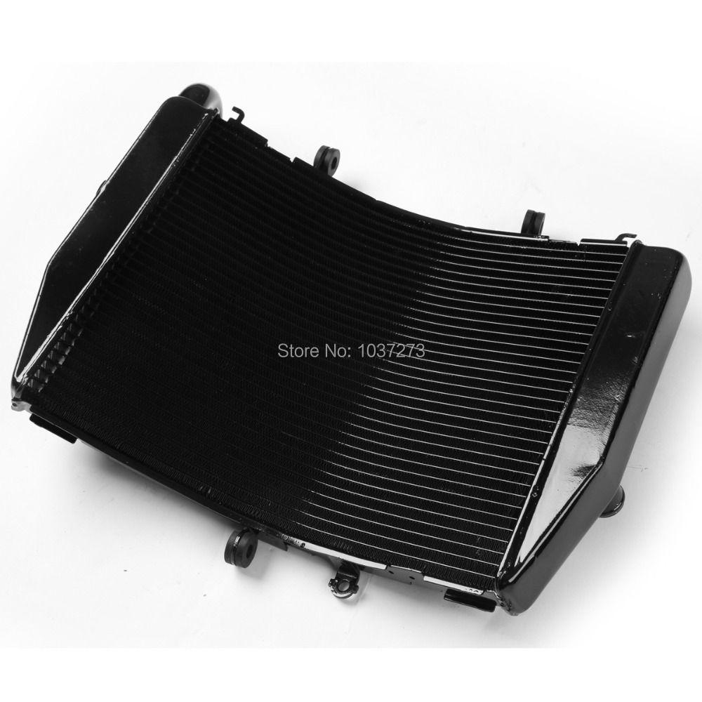 Kühler Kühler Für Honda CBR600RR CBR 600 RR 2007-2014 08 09 10 11 12 13 Schwarz