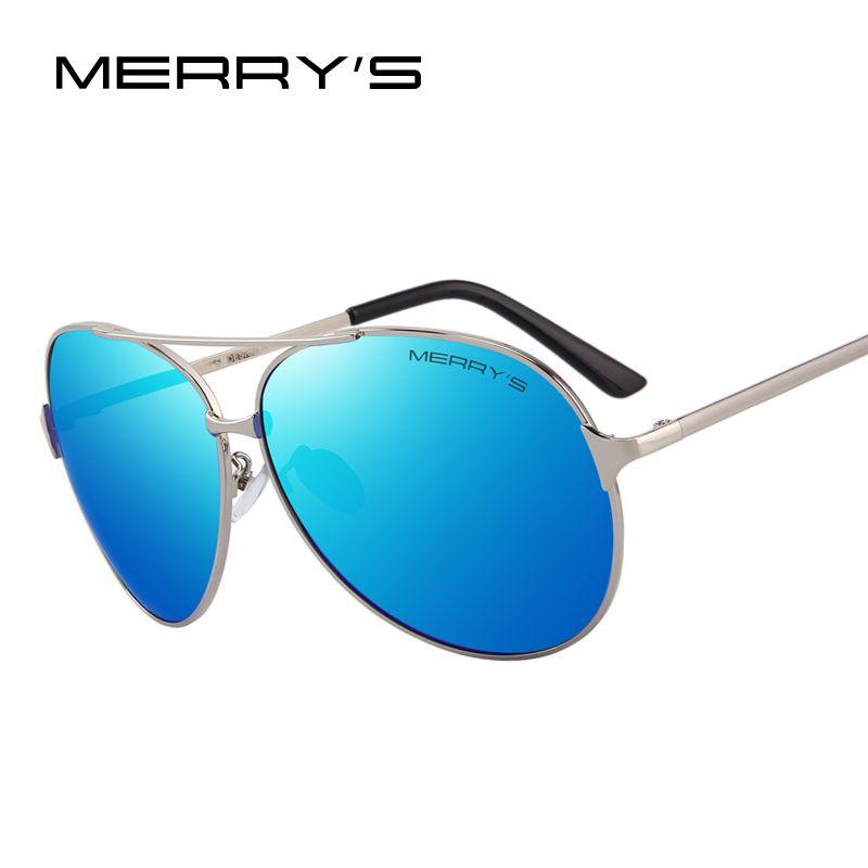 MERRY'S DESIGN Men/Women Classic Aviation Polarized Driving Sunglasses 100% UV Protection S'8008