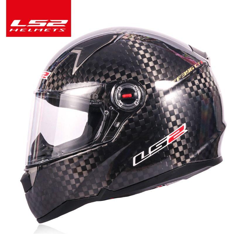 Original LS2 FF396 12 K carbon faser moto rcycle helm LS2 CT2 full face helme casco casque moto keine pumpe FF323 gleichen material