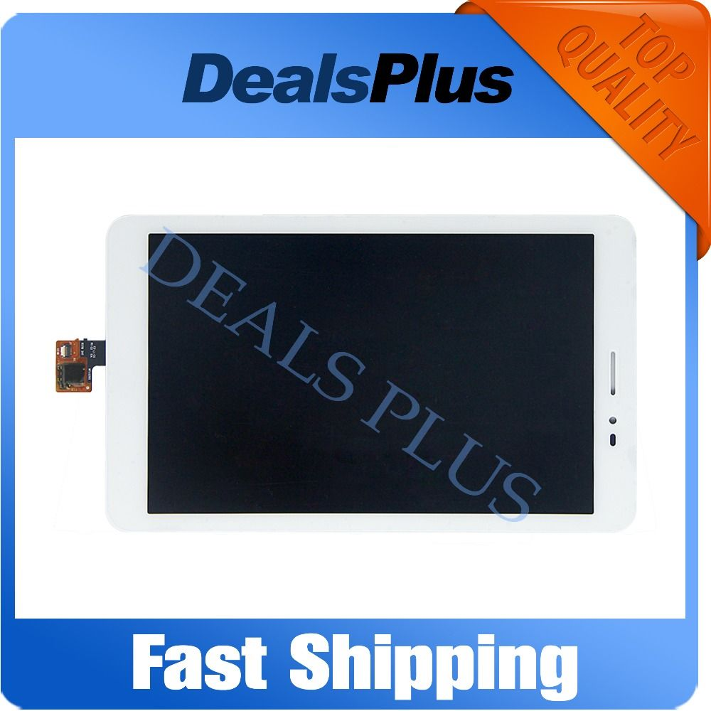 Replacement New LCD Display + Touch Screen Assembly For Huawei MediaPad T1 8.0 S8-701U S8-701 8-inch White