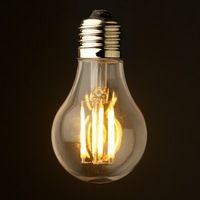 10 W, 2200 K 2700 K, vintage LED Bombilla de filamento, Edison A19 Globos terráqueos estilo, 110 V 220vac, regulable