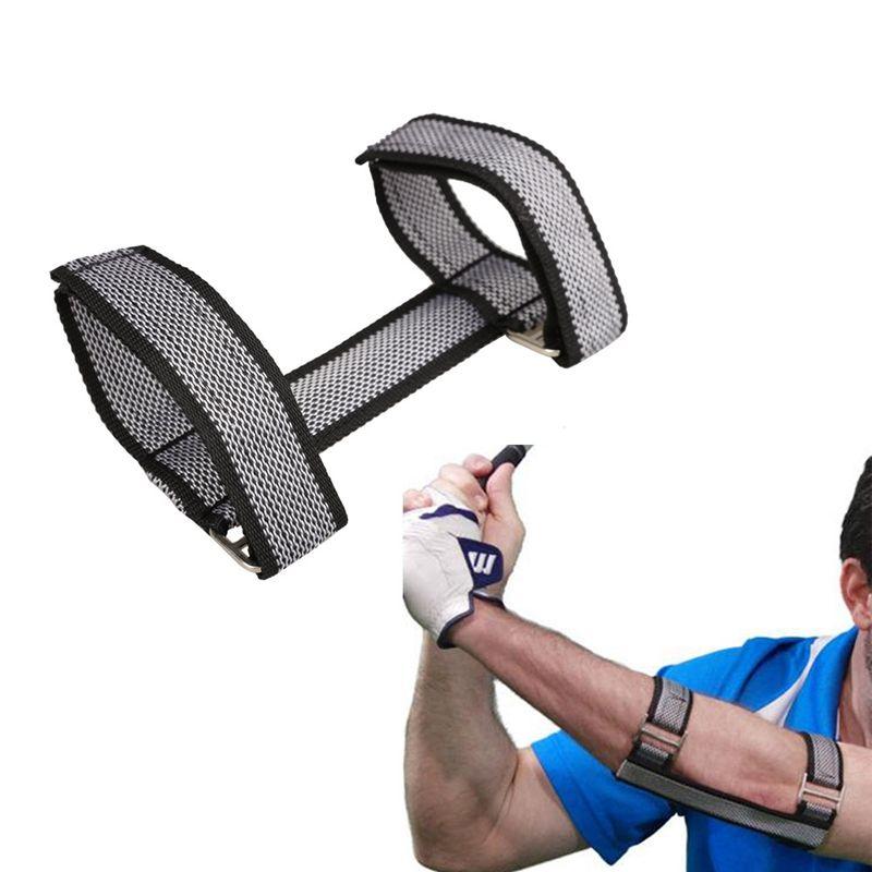 Golf Trainingshilfen Schaukel Hand Gerade Praxis Ellenbogenbandage Haltung Korrektor Unterstützung Arc Trainer Golf Zubehör