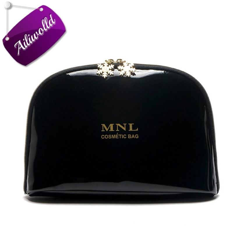 New Brands Women Cosmetic Bags Clutch Waterproof Letter Storage Makeup Case Portable Travel Jewelry Bag Toiletry Bag Wash Pouch
