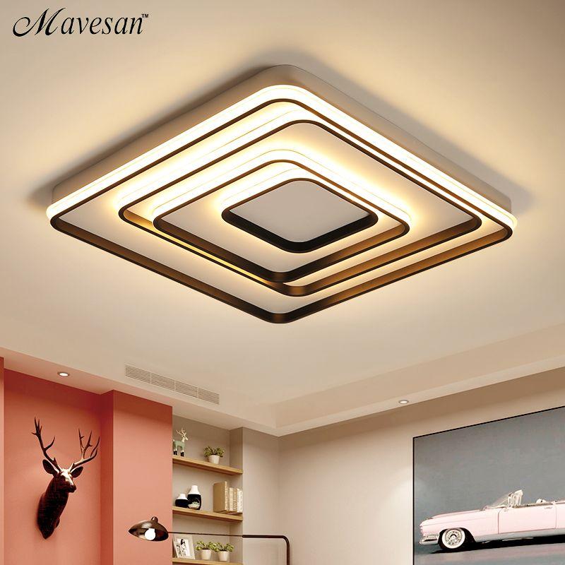 Living Study Room Bedroom Modern Led Ceiling Lights AC85-265V Home Deco Ceiling Lamp Fixtures lamparas de techo