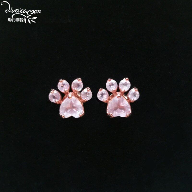 Dvacaman Brand Stud Earrings For Women Wedding Bridal Statement Jewelry Charm Lady Earrings Valentine Birthday Party Prom Gifts