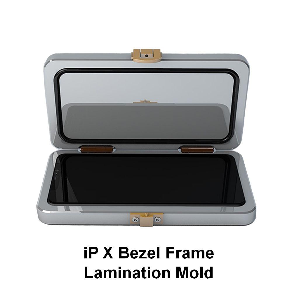 1 Pcs Für iPhone X XS XS MAX LCD Rahmen Lünette Kleber Abgabe Metall Form Verwendet für Dispenser OCA Laminierung reparatur Mold
