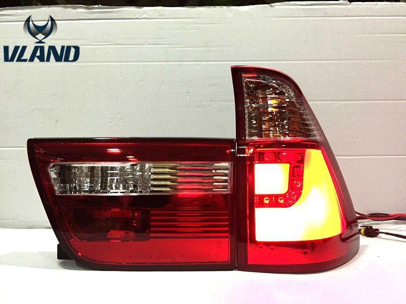 Vland Fabrik Hinten lampe für BMW X5 E53 LED Rücklicht Hinten Lampe 1998-2006 Jahr DRL + Bremse lampe + Reverse lampe