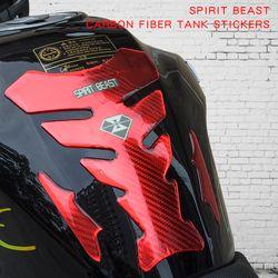 Motocicleta accesorios decorativos personalidad pegatinas impermeable moto protección del tanque de combustible de plástico protectora