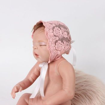Cute Lovely Toddler Infant Newborn Baby Girls Boys Lace Hat Costume Photo Photography Prop Cap Beanie