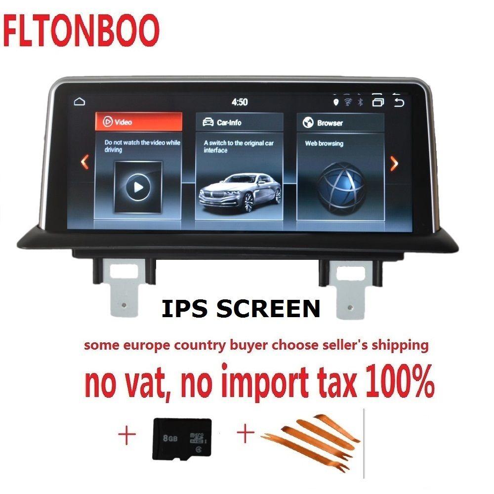10,25 zoll Android 7.1 Auto GPS Navigation Radio player für BMW 1 Serie 120i E81 E82 E87 E88 2G RAM 32G ROM