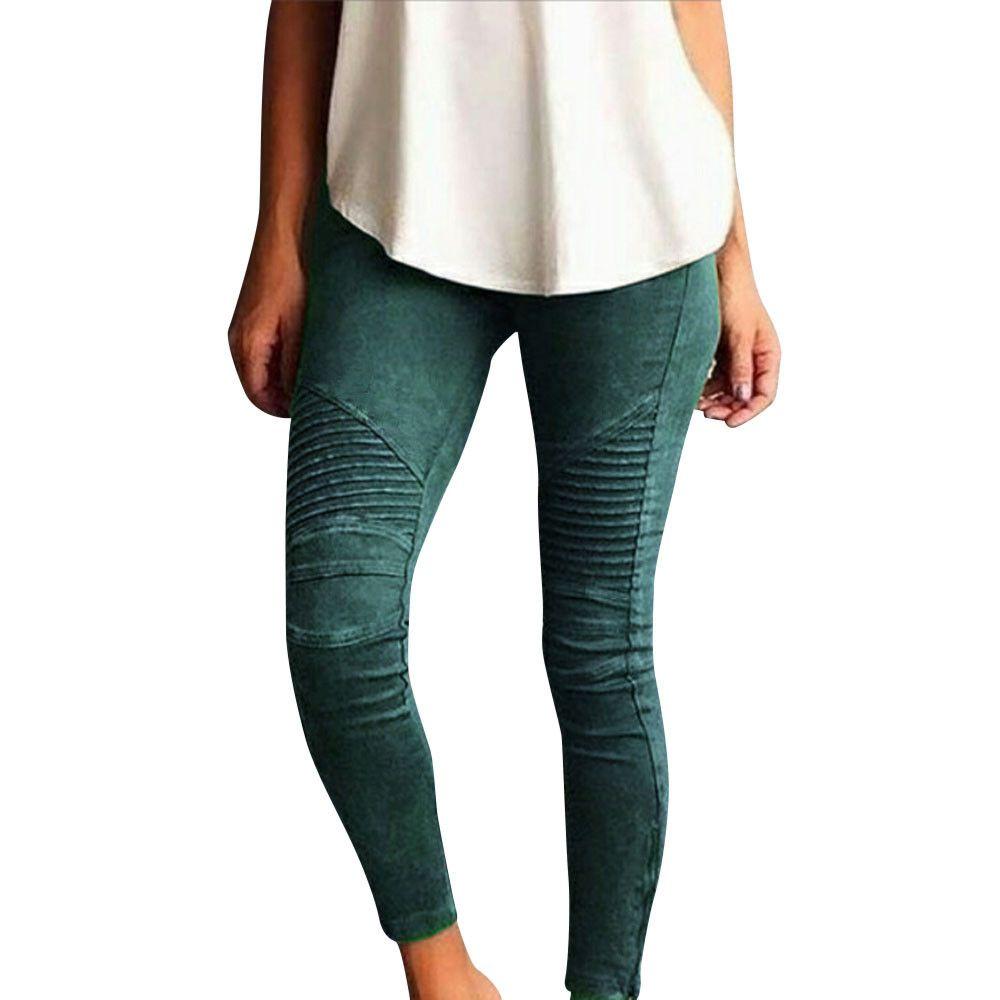 Hot Sale Women Pants Plus Size Casual High Waist Stretch Pencil Pants Women Slim Fit Ladies Skinny Trousers Dropshipping