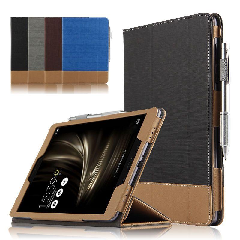 Cas Pour ASUS ZenPad 3 S 10 Z500KL De Protection Smart cover En Cuir Tablet Pour ASUS ZenPad Z10 ZT500KL 9.7 pouce PU Protecteur Manches