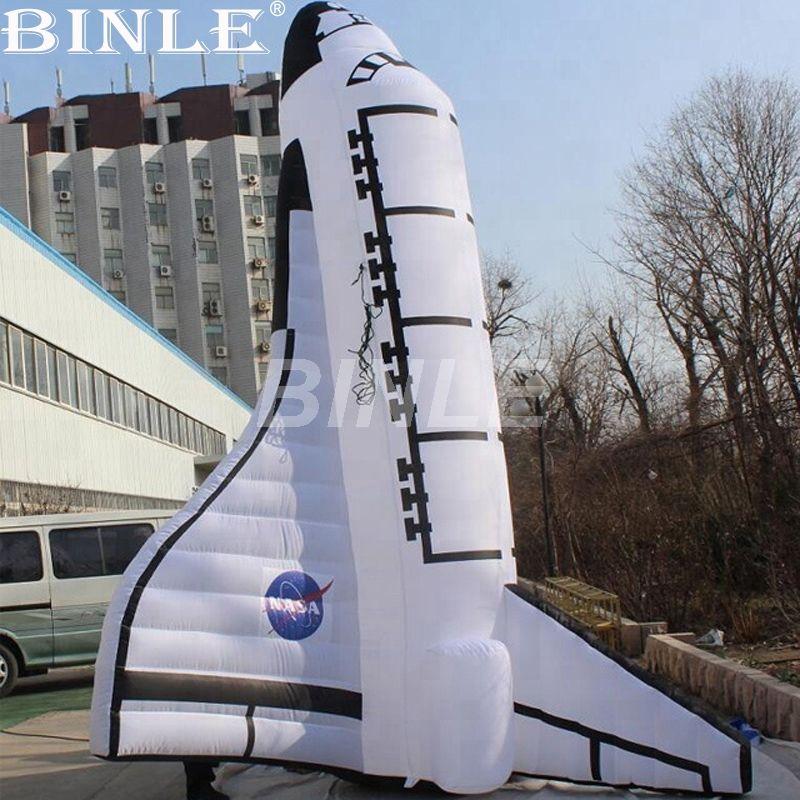Attraktive dekorative riesen aufblasbare rakete schiff aufblasbare raum shuttle replik modell für verkauf