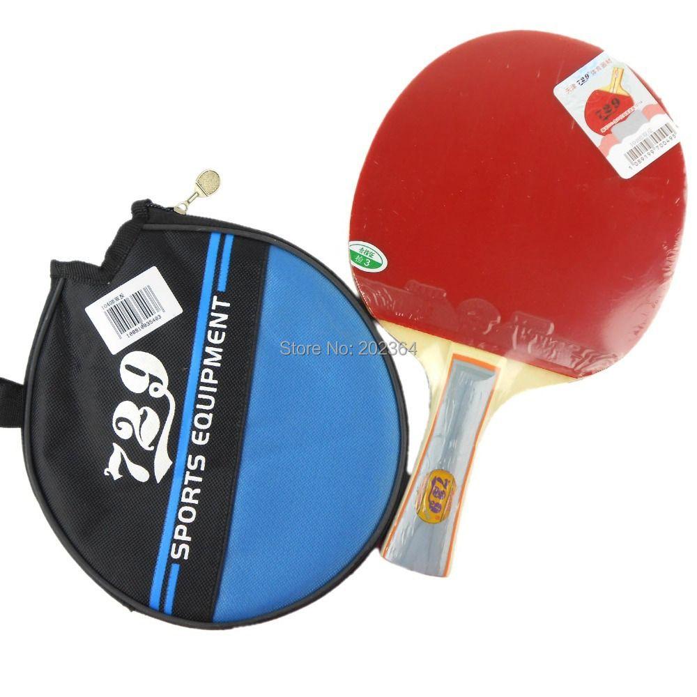 RITC 729 Amistad 1040 # Pipa-En la Tabla Raqueta de Tenis con el Caso de Ping-Pong Shakehand mango largo FL