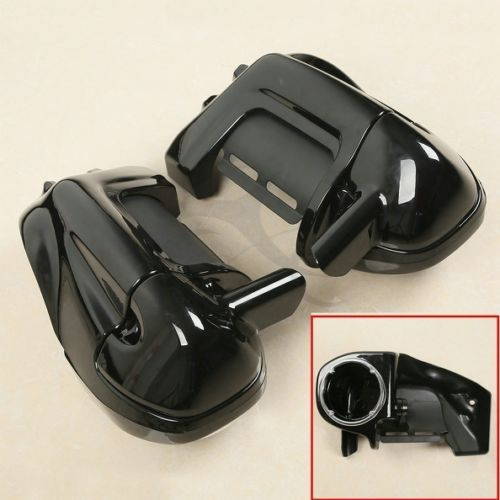Lower Vented Leg Fairing + Speaker Box Pods For Harley Tour Road King Street Electra Glide FL Models