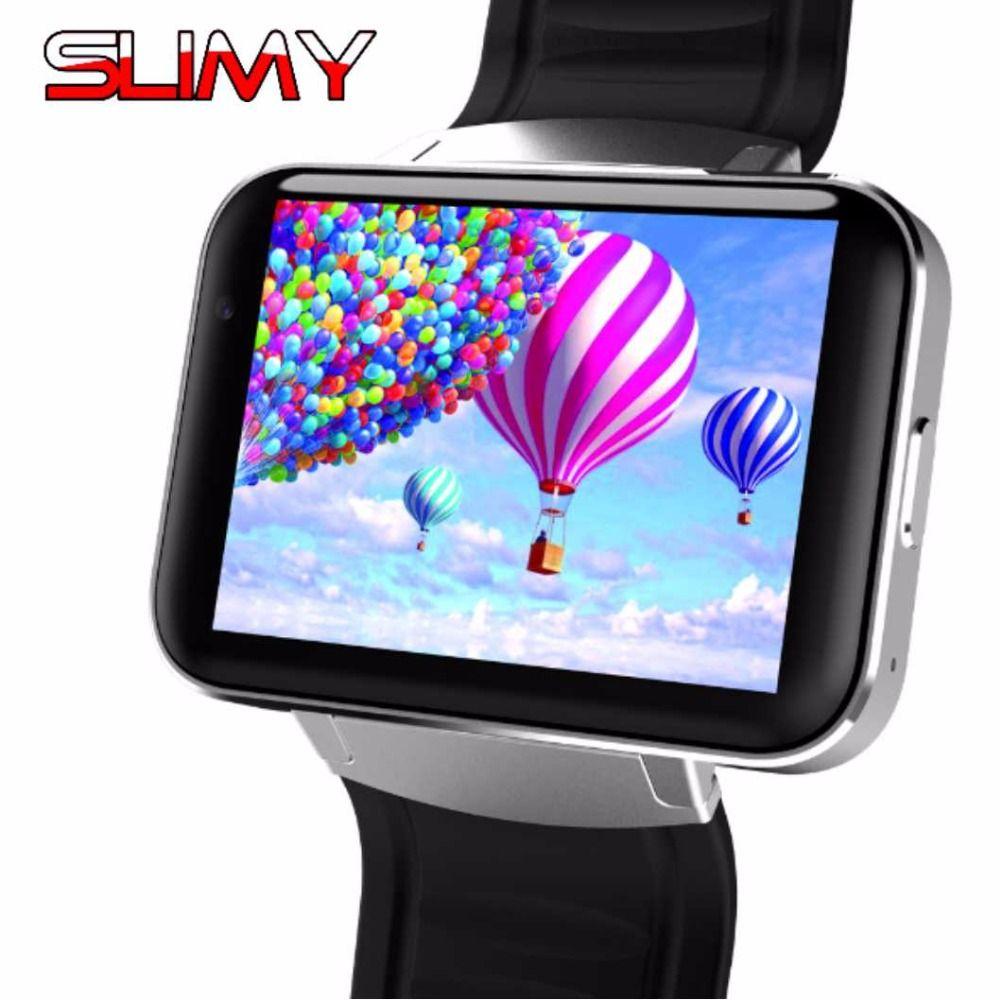 Slimy DM98 Smart Watch Android OS MTK6572 1.2Ghz 2.2 Inch Screen 900mAh Battery 512MB Ram 4GB Rom 3G WCDMA GPS WIFI Smartwatch