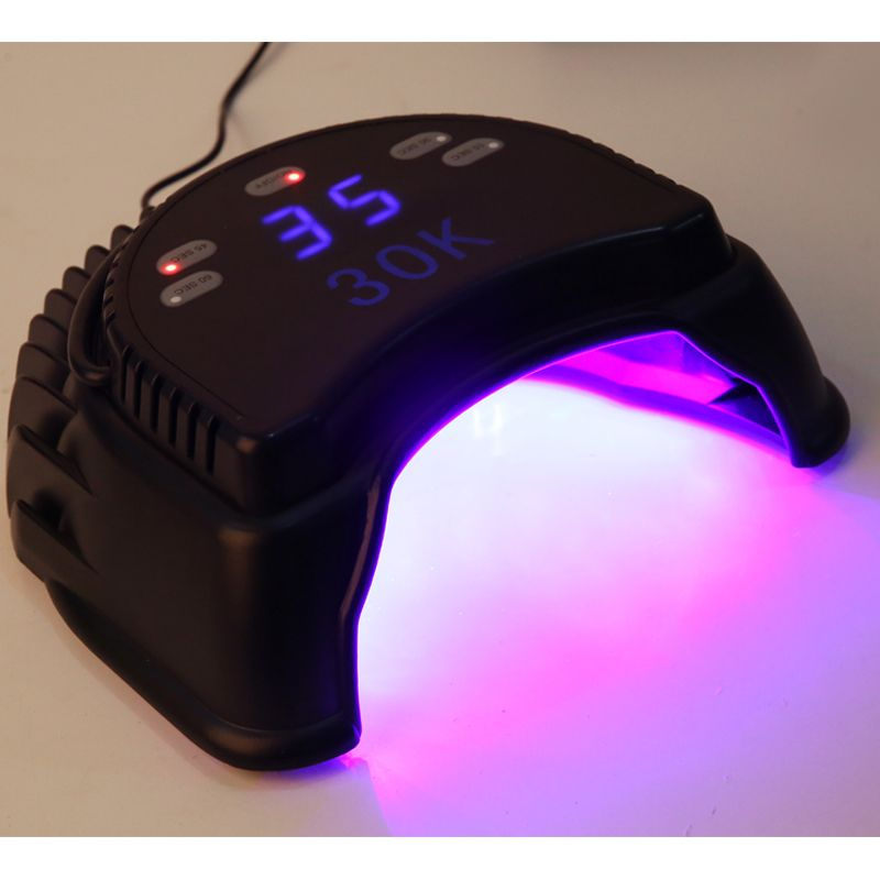 Professional LED Lamp Nail With Fan 60W LED UV Lamp for Curing Gel Polish Nail Dryer with Automatic Induction timer Nail tools