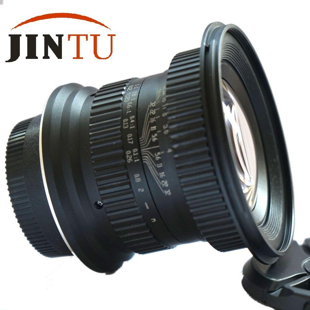 JINTU 15mm f/4.0 F4 Grand Angle Macro Fisheye Pour Canon EF APPAREIL PHOTO REFLEX NUMÉRIQUE PLEIN Cadre APS-C Caméra
