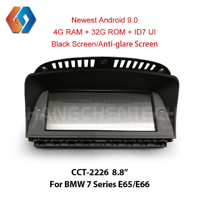 8,8 Android 9.0 Radio Für BMW 7 Serie E65 E66 (2006-2010) 1 Din Auto GPS Navigation Multimedia Auto Stereo Player WiFi BL DVR 26