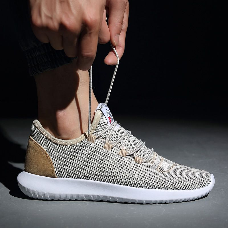 Men's Running Sneakers 2018 New Arrival Men Sports <font><b>Shoes</b></font> Lightweight Mesh Comfortable Walking Trainers <font><b>Shoes</b></font> Lace-up Men <font><b>Shoes</b></font>