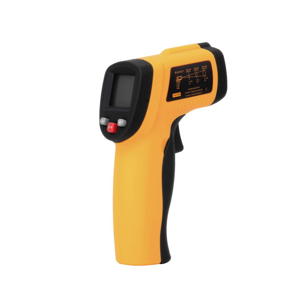 GM550 Digital Non-Contact -50 To 550 degree LCD IR Laser Infrared Thermometer Themperature Measurement Electronic Point Gun