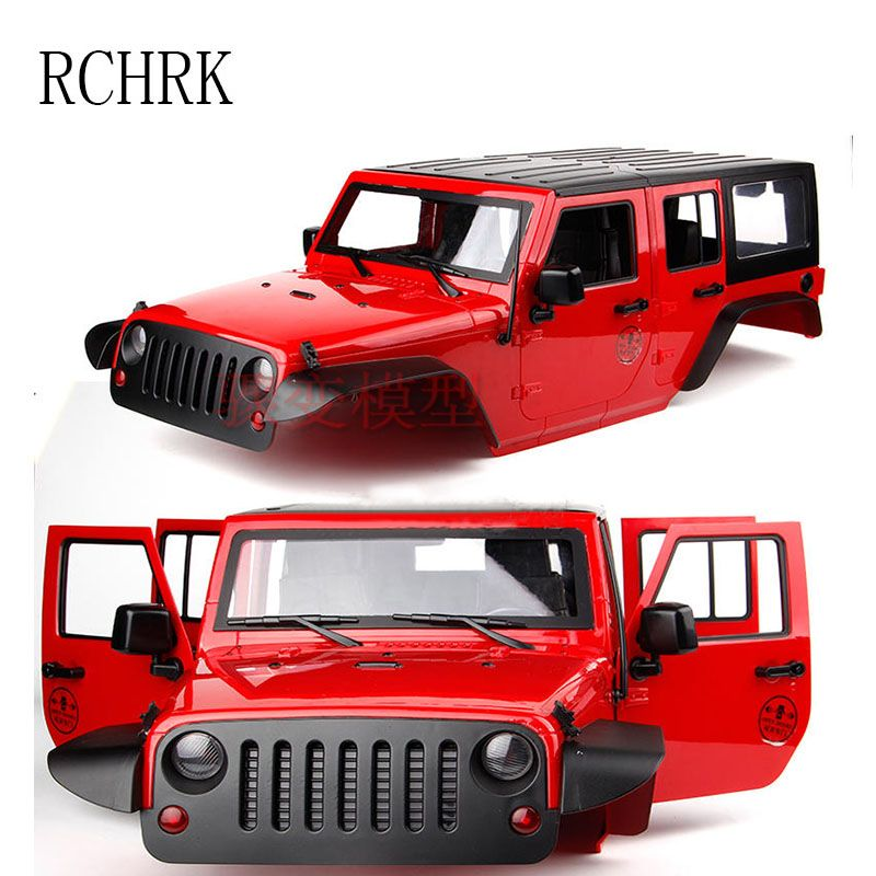 New five door Wrangler SCX10 simulation climbing car JEEP Jeep converted hard shell wheelbase 313