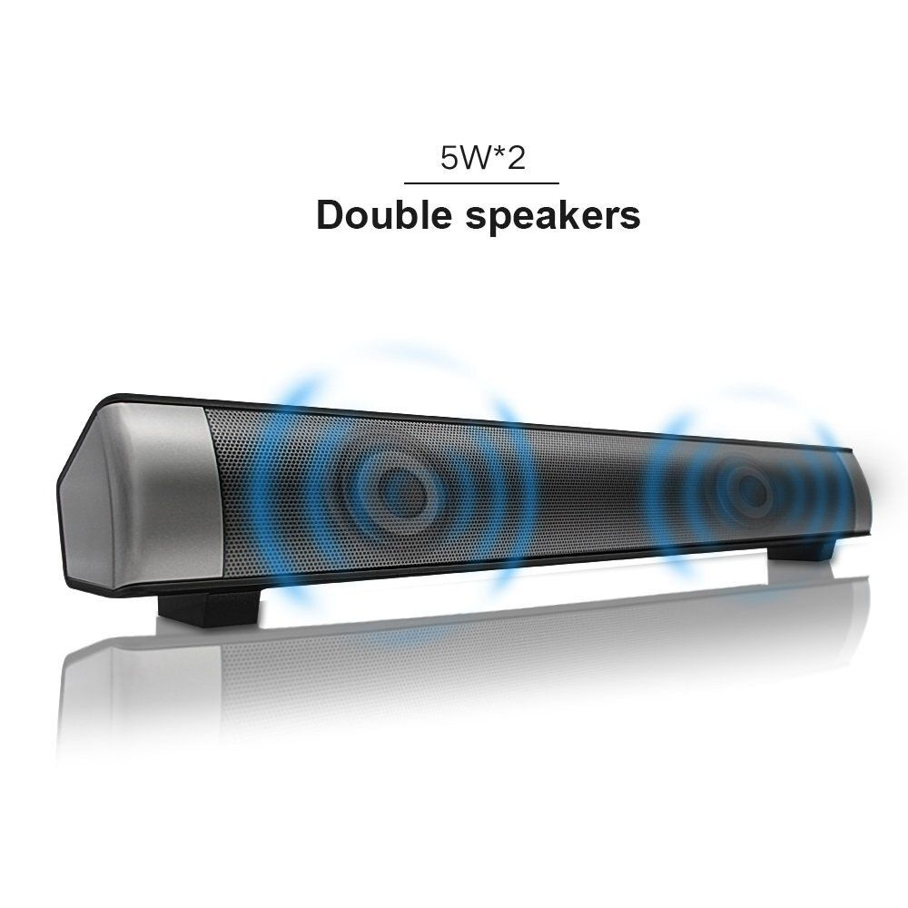 Strong Super Bass New Sound bar Speakers 2.1 Channel USB MP3 Player Bluetooth Wireless Sound Bar Speaker, Micro TF SD Card AUX