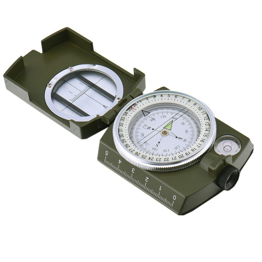 Multifunctional Geological Compass Camping Navigator Equipment High-grade folding outdoor compass with luminous