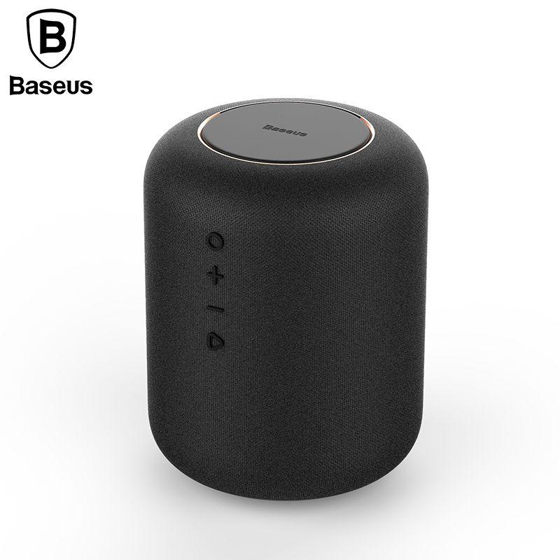 Baseus E50 24W Bluetooth Speaker With Wireless Charger function Qi wireless charger speaker for iPhone X Samsung Xiaomi Huawei