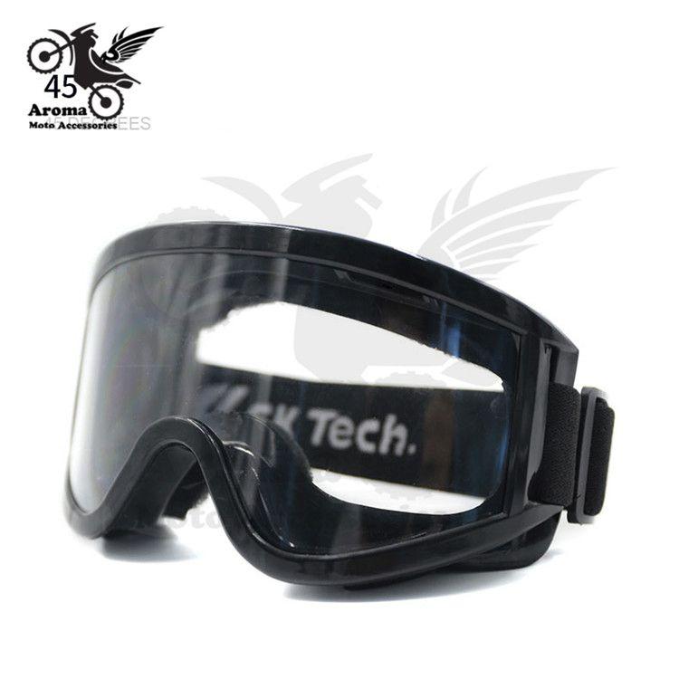 Coupe-vent motocross lentille claire moto lunettes Lunettes de Ski vélo Snowboard protection des yeux équitation racing moto Lunettes