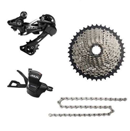 SHIMANO 2018 NEW SLX M7000 1x11 11S Speed Groupset MTB Mountain Bike Contains Shift Lever & Rear Dearilleur & Cassette & Chain