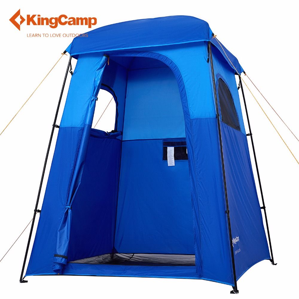 KingCamp Camp Tent Large Shower Camping Tent Portable Dressing Changing Room Shower Privacy Shelter Tent Camping Toilet Tent