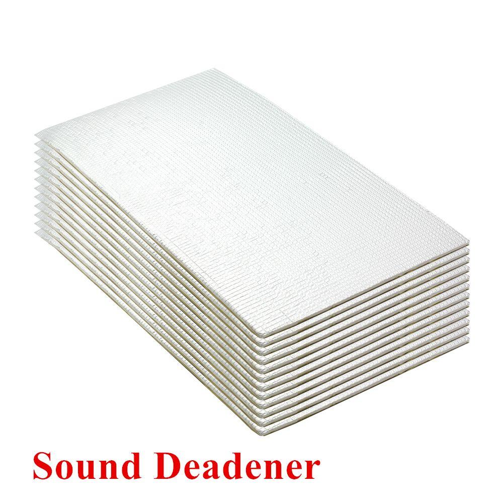 Acoustic Sound Damping Aluminum Foil Automotive Firewall Sound Deadener Heat Insulation Deadening Material Mat