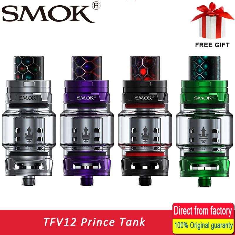 Original TFV12 PRINCE Atomizer with Capacity 8ml Top filling electronic cigarette TFV12 Prince tank VS Tank SMOK TFV12 atomizer