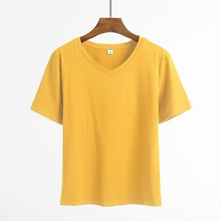 fashion 2018 new fashion s summer wear girl students' loose fitting cartoon design round neck T - shirt