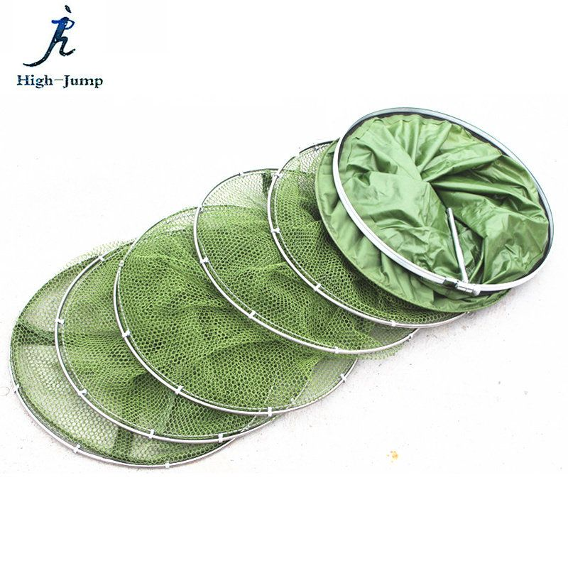 Anti-hanging Small Mesh Fishing Care Net Stainless Steel Double Ring Fishing Net Universal Location Fish Care Net With Glueing