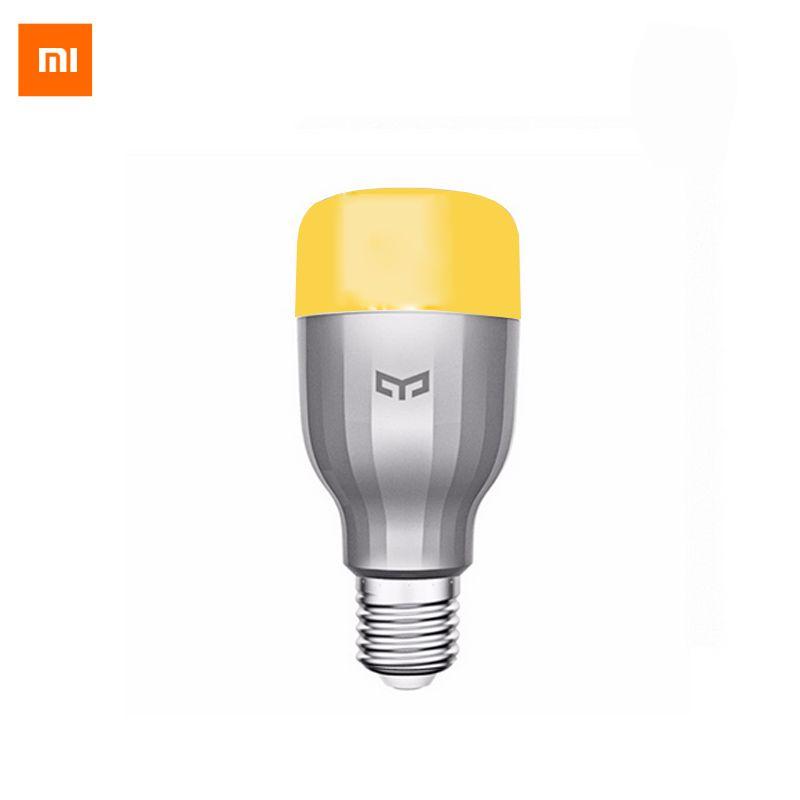 D'origine Xiaomi Mi Nuit Yeelight Smart LED Lampe Wifi Télécommande RGB Lumière E27 Coloré Maison Intelligente éclairage LED Ampoule