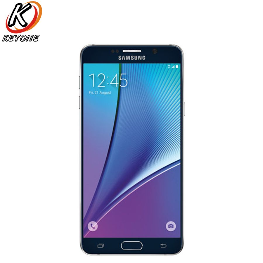 Original T-Mobile Version Samsung Galaxy Note 5 Note5 N920T 4G LTE Mobile Phone Octa Core 5.7