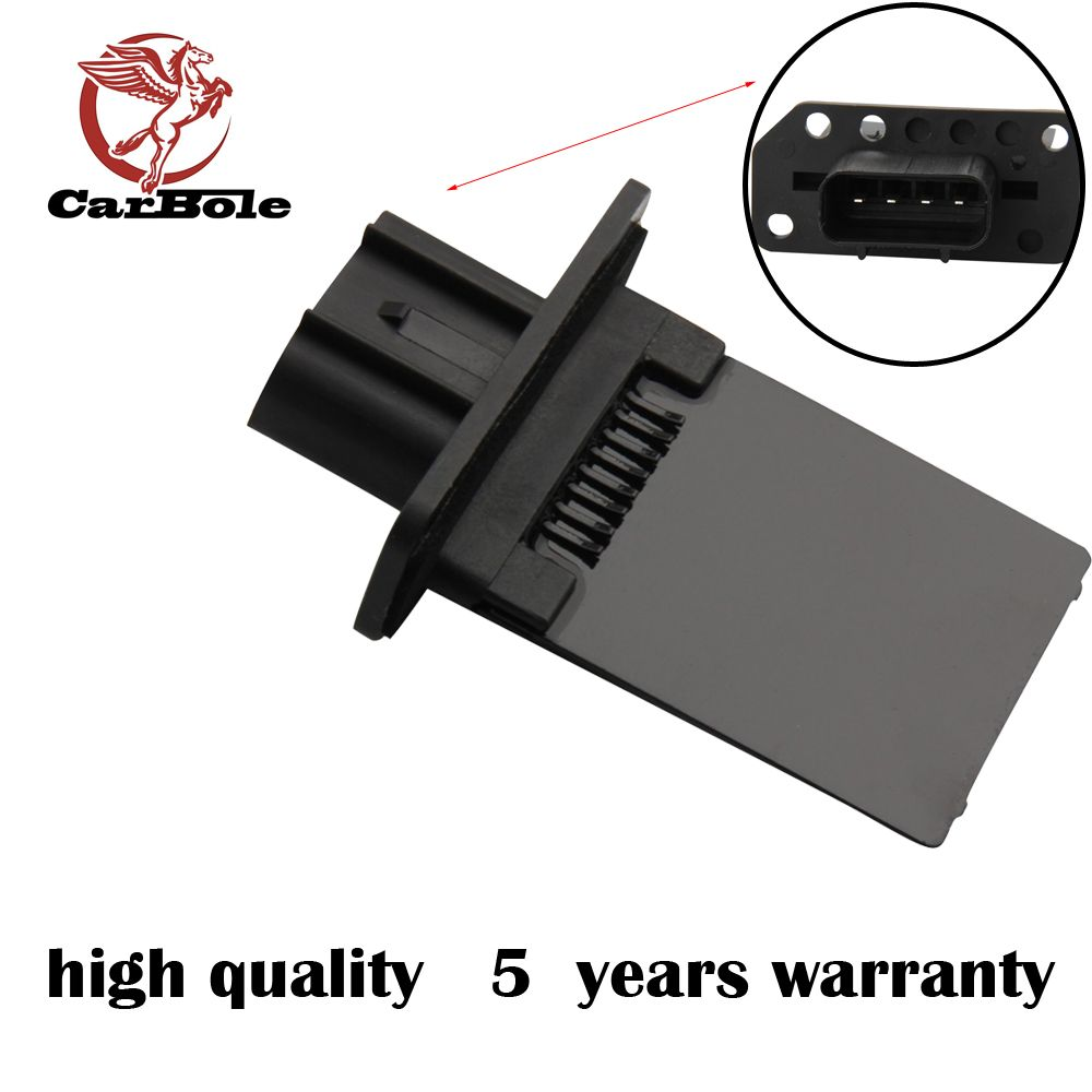 Blower Motor Fan Heater Resistor for Nissan Navara D40 Pathfinder R51 2005-2013 With Manual Air Conditon Control 27150-5Z000