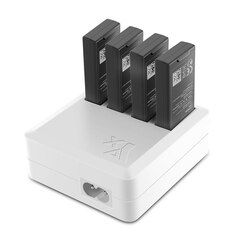 TELLO cargador 4in1 Multi carga de batería para DJI TELLO 1100 mAh Drone batería de Vuelo Inteligente carga rápida US/ enchufe de la UE