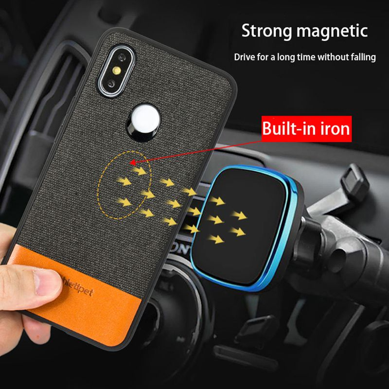 Fabric Magnetic case For Xiaomi Mi 9T 9t pro 8SE 9 se back cover business Case For xiaomi redmi k20 pro note 7 A2 lite Mix 2S