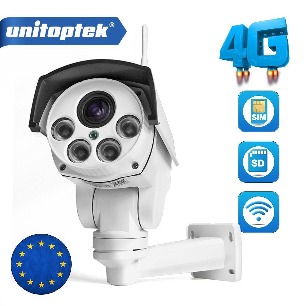 1080 p IP Kamera Wi-FI 3g 4g SIM Karte Kamera Wifi HD Kugel PTZ Kamera Outdoor Wireless IR 50 mt 5X Zoom Autofokus Objektiv CCTV Cam