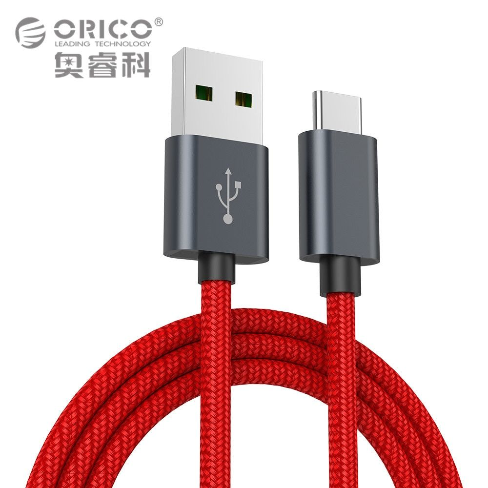 ORICO Kevlar 5A USB Type C Cable High-speed USB Sync&Charging Cable for Huawei P9 Macbook LG G5 Xiaomi Mi 5 HTC 10 and More